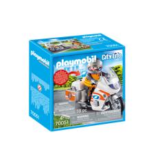 Playmobil - Redningsmotorcykel (70051)