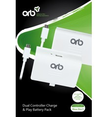 ORB Dual Controller Battery Pack - For Xboxone S