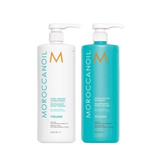 MOROCCANOIL -  Extra Volume Shampoo 1000 ml + Extra Volume Conditioner 1000 ml
