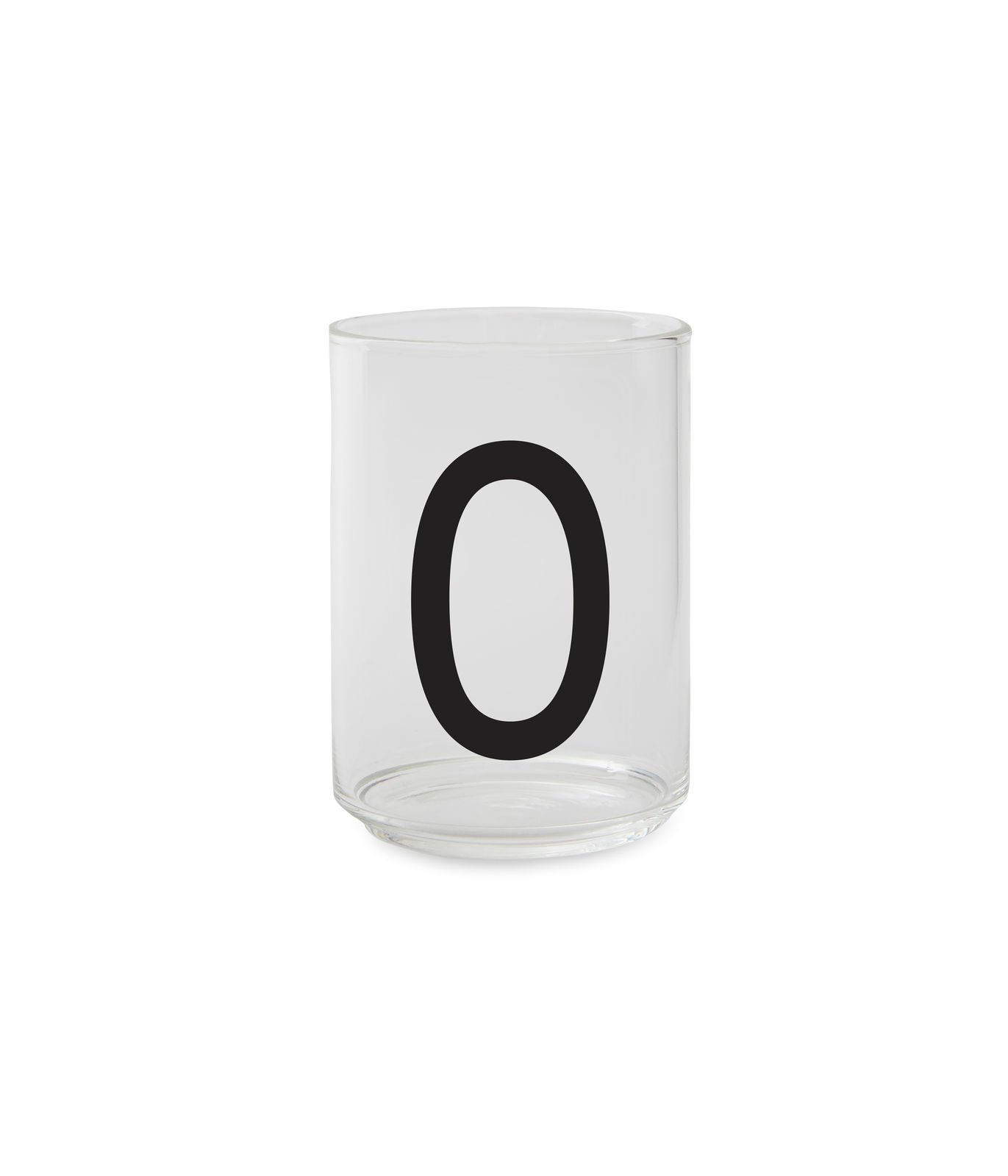 ​Design Letters - Personal Drinking Glass O