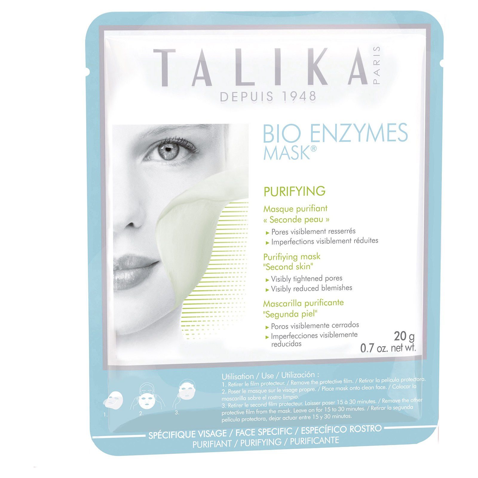 Talika -  Bio Enzymes Purifying Sheet Mask