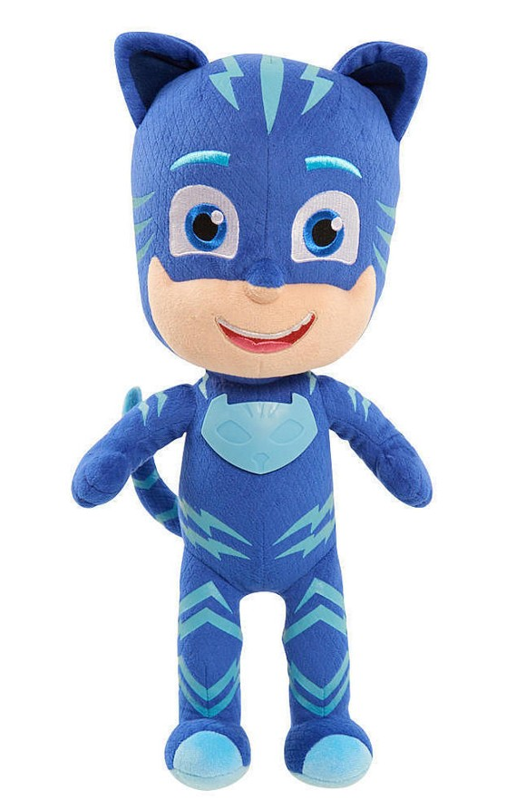 PJ Masks - Sing and Talk plush , 36 cm - Catboy