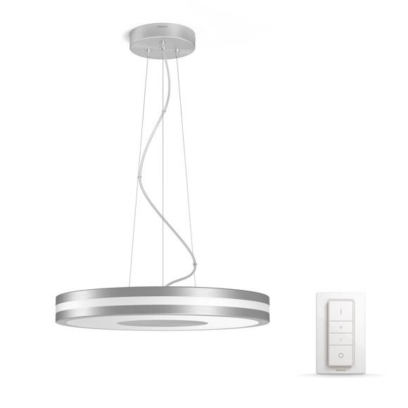 Philips Hue - Being  Pendant Lampe Sølv (Dimmer Switch Inkl.)