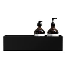 Nichba - Bath Shelf 40 - Black (L100105)