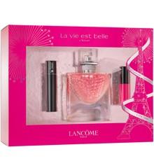 Lancôme - La Vie Est Belle L'Eclat EDP 30 ml + L'Absolu 378 Lip Color + Hypnose Mascara 2 ml - Gavesæt