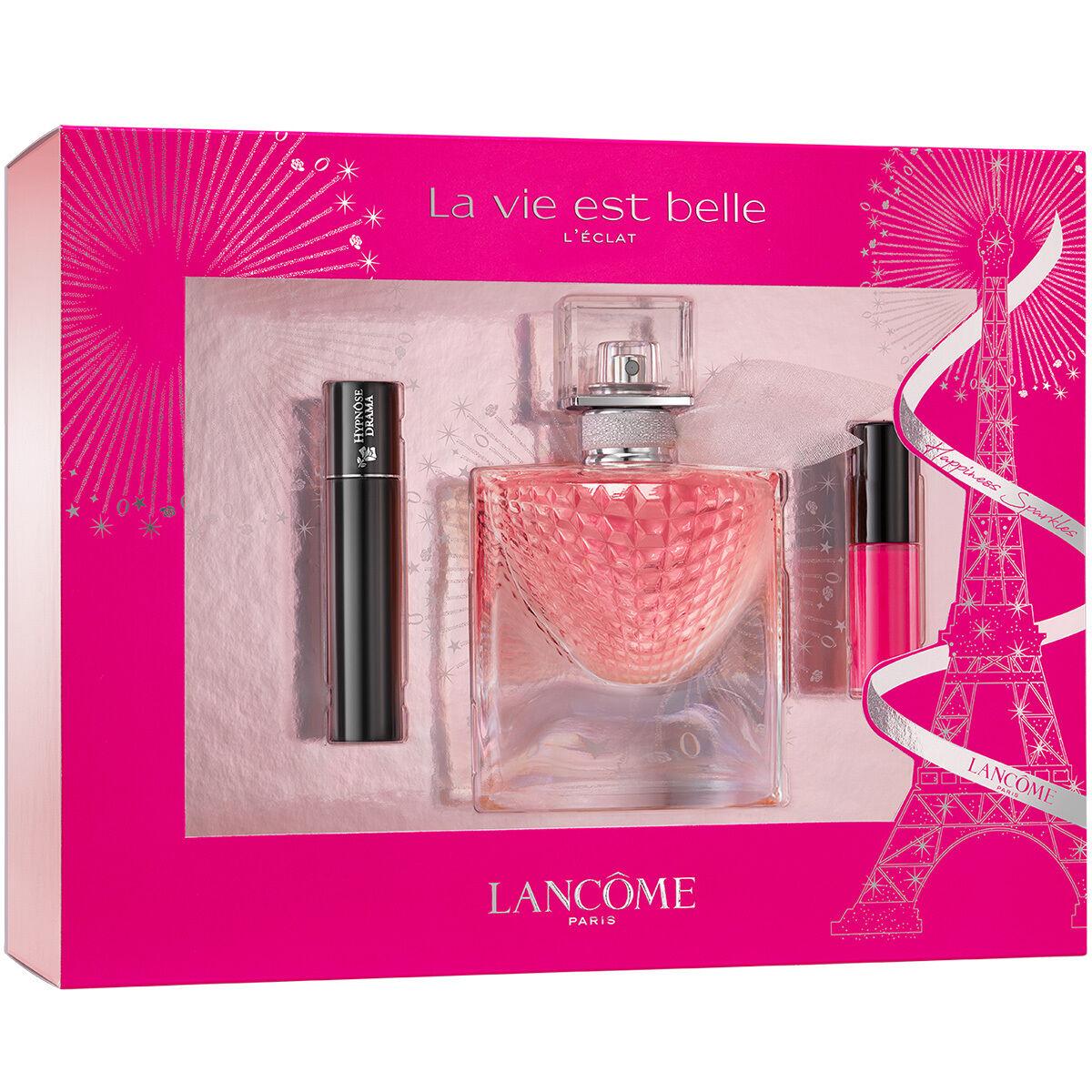 Lancôme - La Vie Est Belle L'Eclat EDP 30 ml + L'Absolu 378 Lip Color + Hypnose Mascara 2 ml - Giftset