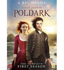 Poldark: Sæson 1 (3-disc) - DVD