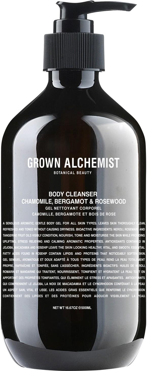 Grown Alchemist - Body Cleanser: Chamomile, Bergamot & Rosewood 500 ml