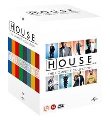 House M.D. - Complete Box Season 1-8 (46 disc) - DVD