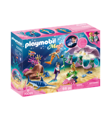 Playmobil - Magic - havfrue natlampe i perlemor (70095)