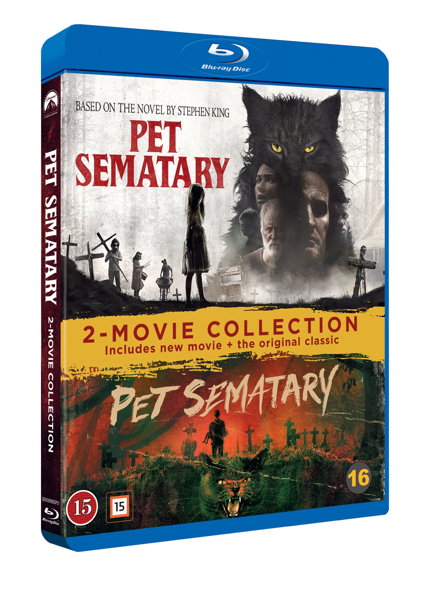 Pet Sematary 2-Movie Box