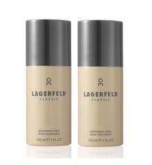 Karl Lagerfeld - 2x Classic Deodorant Spray 150 ml