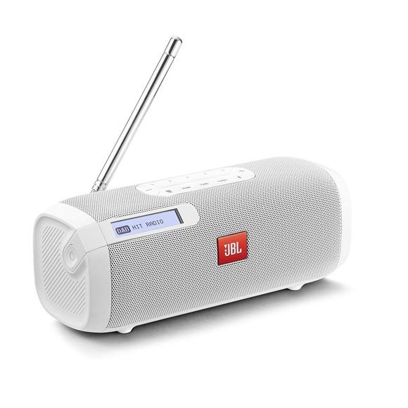 JBL - Tuner Bærbar Bluetooth Højttaler med DAB og FM Digital Radio