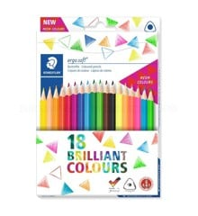 Staedtler - Coloured pencil ergosoft 18 pcs FSC 100% (157 C18P1)