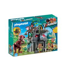 Playmobil - Lejr med T-Rex (9429)