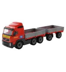 Wader - Volvo Truck w. Extra Lorry 77 x 19 x 25 cm (519907)