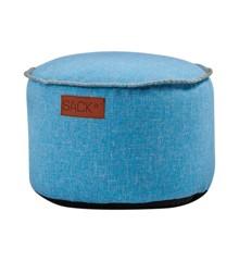 SACKit - RETROit Cobana Drum Puf - Turqouise (Kan bruges udendørs)