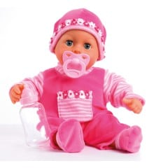 Bayer - Doll - First Words Baby - Pink 38 cm (93825AA)