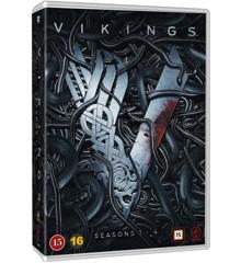 Vikings - Season 1-4 complete - DVD