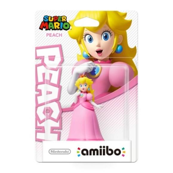 Nintendo Amiibo Figurine Peach (Super Mario Bros. Collection)
