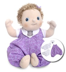 Rubens Barn - Rubens Baby Doll with diaper - Emma (120092)