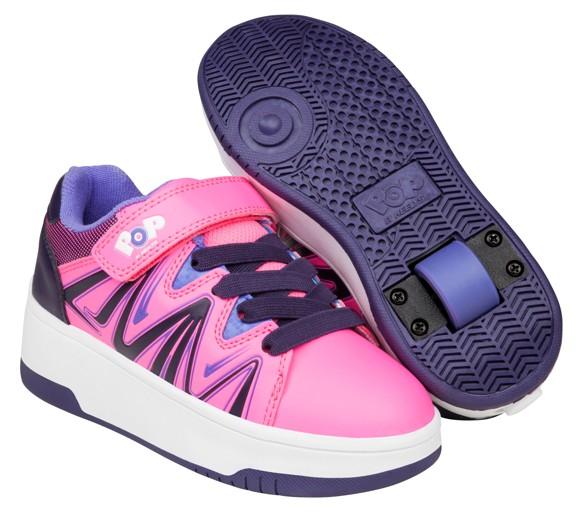 Heelys - Burst - Pink/Purple/Blue - Size 35 (POP-G1W-0012)