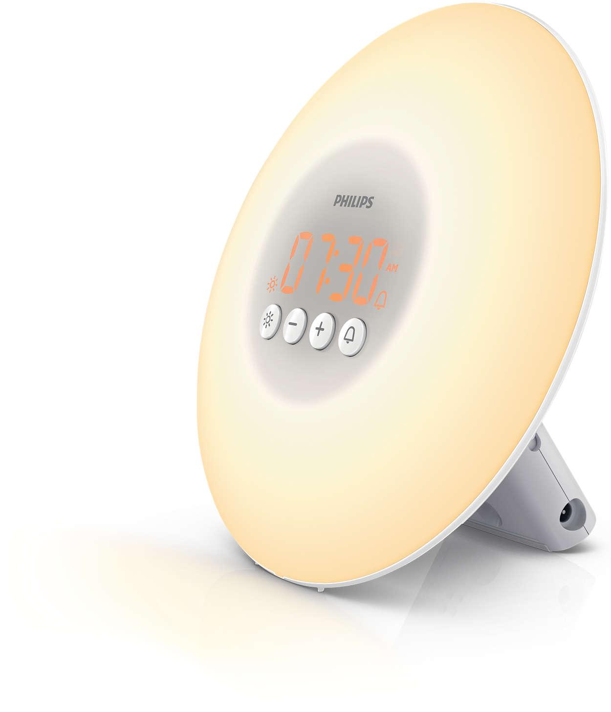 Kj 248 P Philips Wake Up Light Alarm Clock Hf3500 01 Inkl