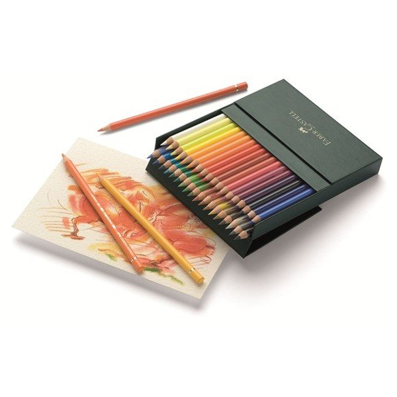Faber-Castell - Polychromos farveblyanter - Studio box med 36 stk