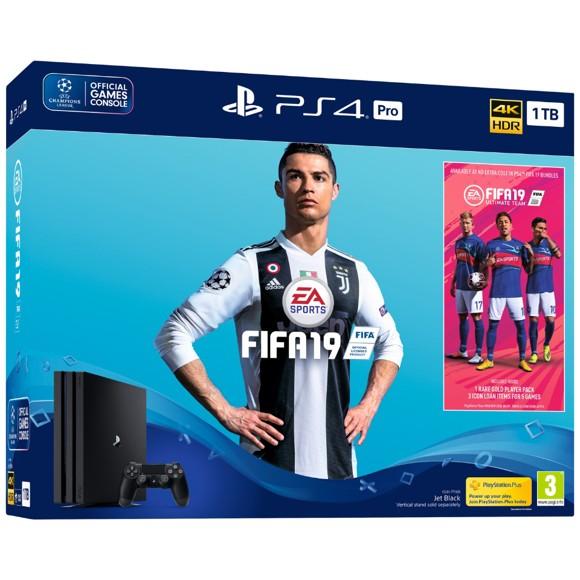 Playstation 4 Pro Console - 1 TB (FIFA 19 Bundle)