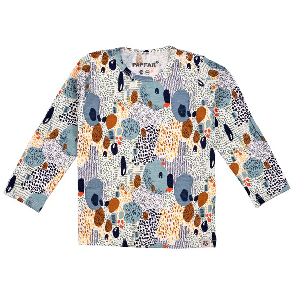 ​PAPFAR - Single Jersey AOP LS Top