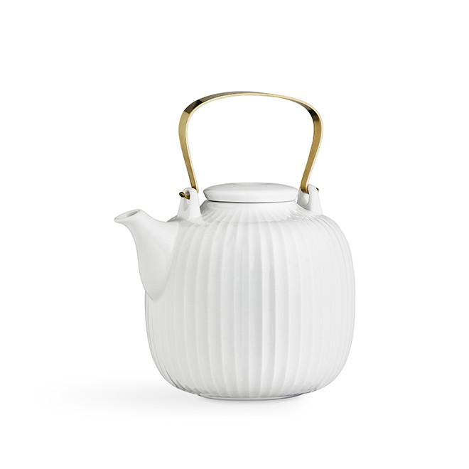 Kähler - Hammershøi Thepot - White (693040/17007)