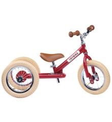 Trybike - Steel Balanscykel 3-Hjul, Vintage röd