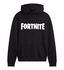 FORTNITE Black Logo Hoodie Size 9-11 Years