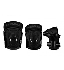 Head - Safty Set - Black/Grey - XS (PO.7 GREY XS)