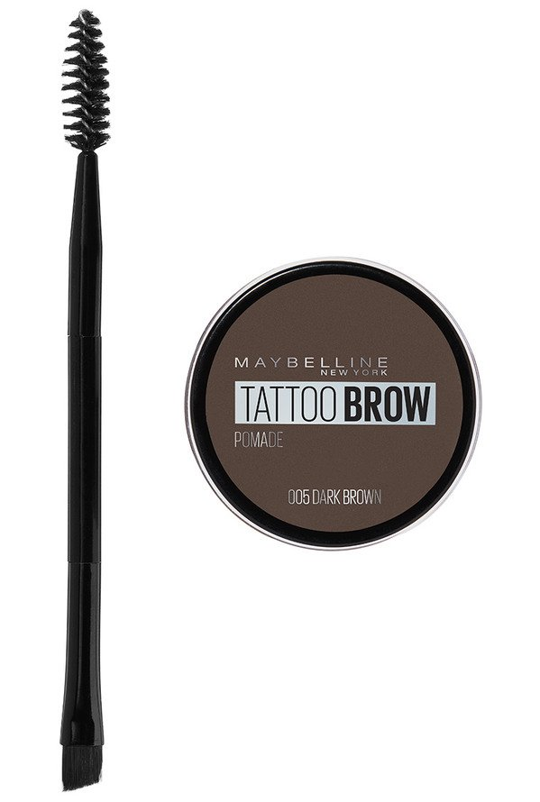 Maybelline - Tattoo Brow Pomade Pot - 05 Dark Brown