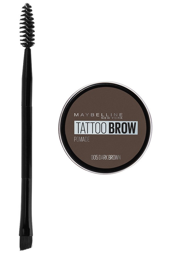 Maybelline - Tattoo Brow Pomade Pot - 05 Dark Brown