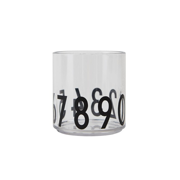 Design Letters - Tritan Personal Drinking Glass​​ Numbers - Special Edition (20103005123)