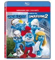 Smølferne 1+2/The Smurfs 1+2 (Blu-Ray)