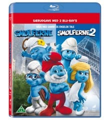 The Smurfs 1+2/Smølferne 1+2 (Blu-Ray)