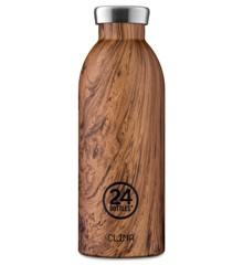 24 Bottles - Clima Bottle 0,5 L - Sequoia Wood (24B156)