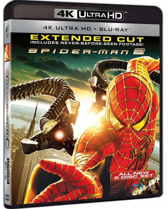 Spider-Man 2 (4K Blu-Ray)