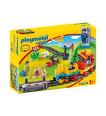 Playmobil 1.2.3 - My first train set (70179)