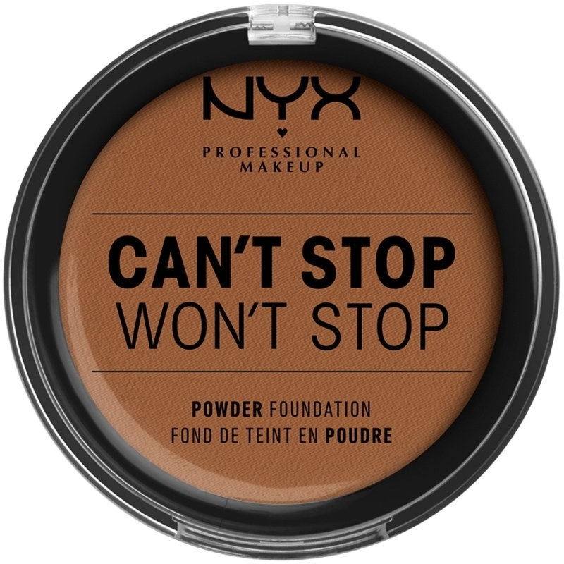 NYX Professional Makeup - Can't Stop Won't Stop Powder Foundation - Cappucino