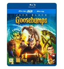 Goosebumps (Jack Black) (3D + 2D Blu-Ray)