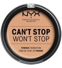 NYX Professional Makeup - Can't Stop Won't Stop Powder Foundation - Natural