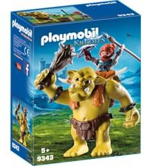 Playmobil - Kæmpe Trold med Dværge Kriger (9343)