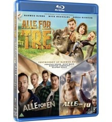 Alle For En/Alle For To/Alle For Tre (Blu-Ray)