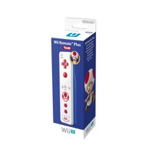 Wii U Remote Plus Toad Edition (For Wii and Wiiu)