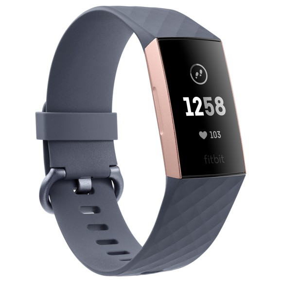 Fitbit - Charge 3 Avanceret Fitness Tracker