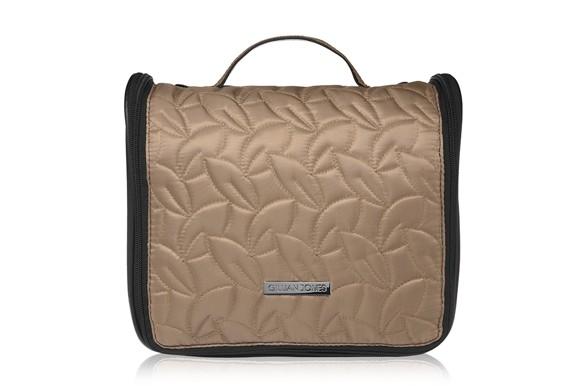 Gillian Jones - Toiletry Bag in Quilt Latte